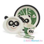 Zopa étkészlet bambusz Panda