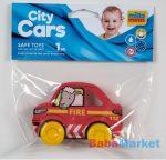My First City Car rágóka -Fire piros zacskóban