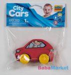 My First City Car rágóka -piros zacskóban