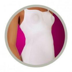 Trendy Mommy szoptatós kombiné fehér L/XL