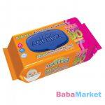 Aquella Soft Hygienic tisztítókendő 90 db kupakos