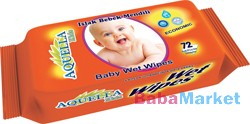 Aquella Kids Baby Economic nedves törlőkendő