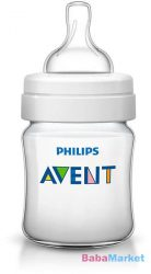 Avent classic plusz cumisüveg 125ml BPA mentes (PP)