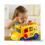 Fisher-Price Little People - Fecsegő iskolabusz