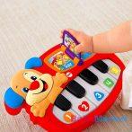 Fisher Price Játékok - Tanuló kutyás zongora