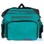 pelenkázó táska - fillikid lena smaragd zöld
