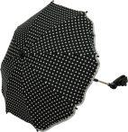 Babakocsi napernyő - FILLIKID pöttyös fekete 671180-06
