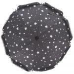 Fillikid Napernyő 50+ UV szűrős csillagos szürke 671185-41
