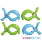 Dreambaby Csíptető 4db zöld/kék 2219