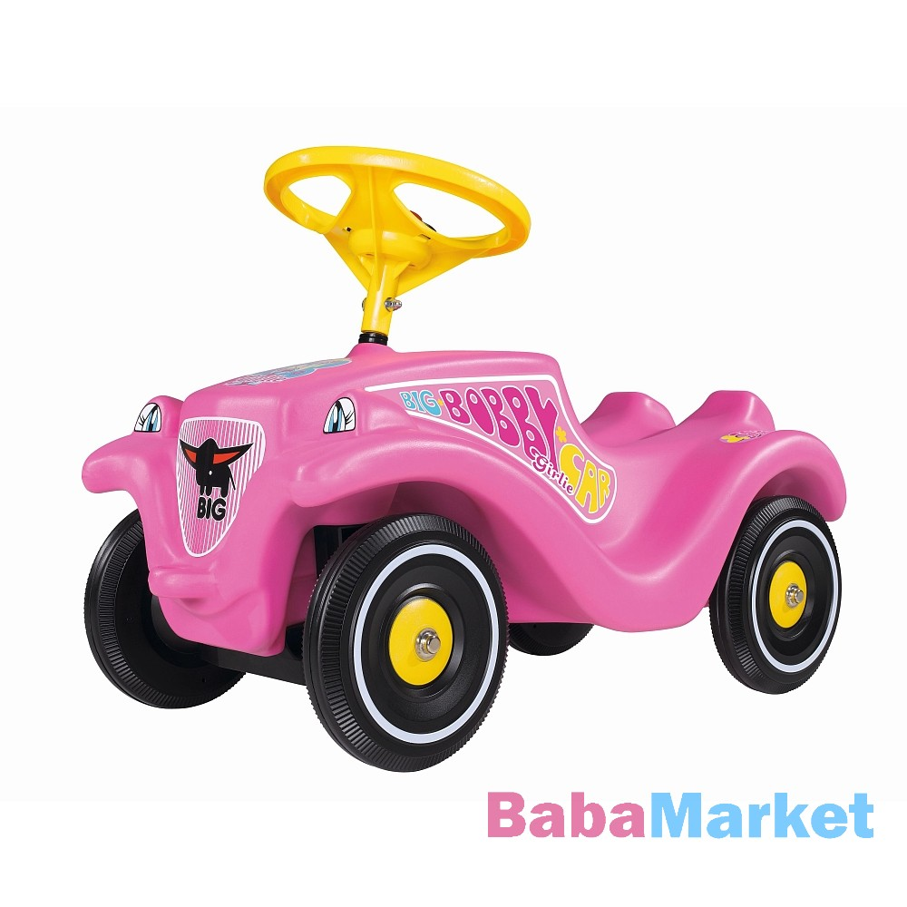 Simba BIG Bobby Car Classic - rózsaszín